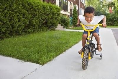 Карането на колело подобрява координацията